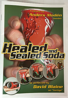 Magic Tricks : Healed and Sealed Soda, Anders Moden