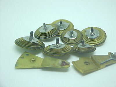 Job Lot Antique Pocket Watch Fusee Cone Parts