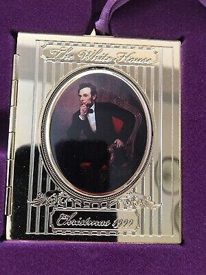 The White House Historical Association Christmas Ornament - 1999