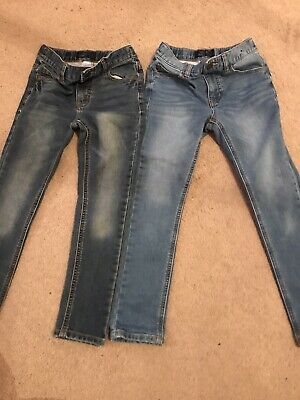 2 Pairs Boys Next Jeans Age 8. Blue. Skinny