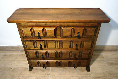 Antikes Navaro Argudo Mobiliar spain Holz Kommode sideboard antique furniture