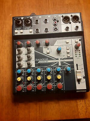 SoundCraft Notepad 8fx mixer + USB interface Very Nice Cond.--Free Shipping!