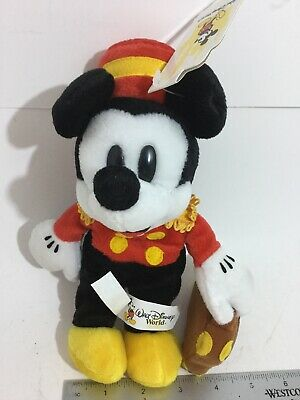 Vintage Disney All Star Sports Resort Hotel Mickey Bellhop With Suit Case