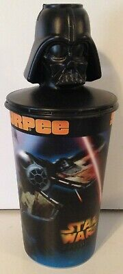 Star Wars: Revenge of the Sith 7-11 2005 Slurpee Cup With Darth Vader Topper