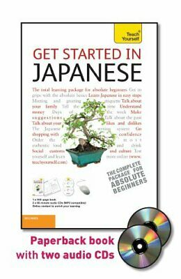 GET STARTED IN JAPANESE WITH TWO AUDIO CDS: A TEACH By Helen Gilhooly **Mint**
