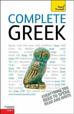 COMPLETE GREEK: A TEACH YOURSELF GUIDE (TY: COMPLETE By Aristarhos Matsukas *VG*