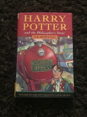 Harry Potter and the Philosopher's Stone. Hardback, First Edition/ 4th Print