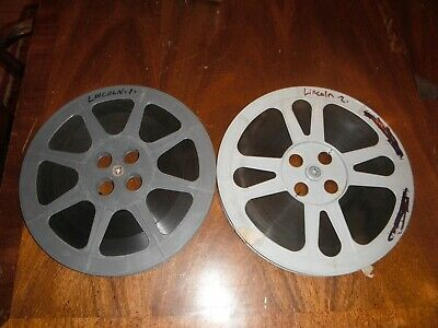 """16mm 2 Reel Film D.W. Griffith """"ABRAHAM LINCOLN"""" 1930"""
