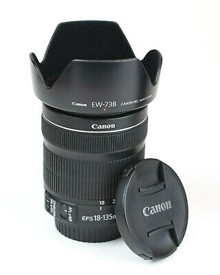 Canon EF-S 18-135mm F3.5-5.6 IS STM Lens, Excellent Condition