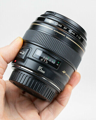 Canon EF 85mm f/1.8 USM Lens in Excellent Condition
