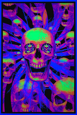 #FL3319S  RC45 F UNDERSEA by MICHAEL DuBOIS POSTER PSYCHEDELIC SMOOTH