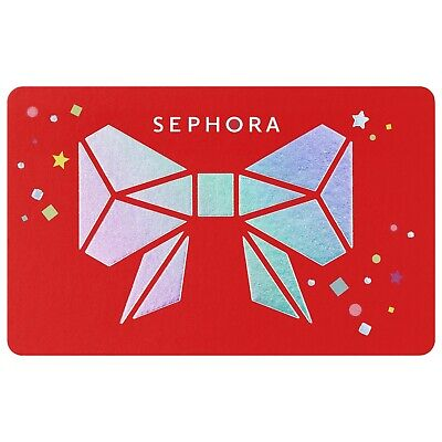Sephora Gift Card $100 Value, Free Shipping!