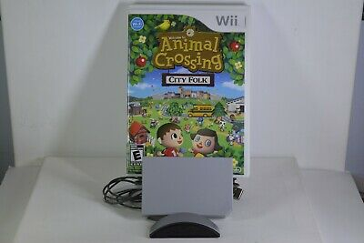 Animal Crossing: City Folk (Nintendo Wii) Complete w/ Wii Speak Accessory