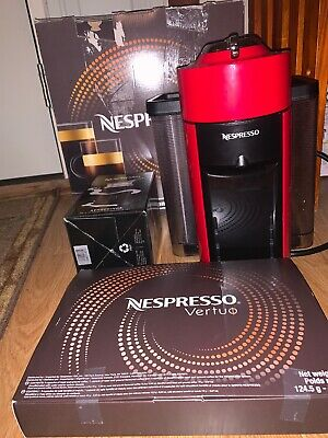 SALE! Delonghi Nespresso Vertuo Line RED + Aeroccino 3 Coffee Espresso Maker
