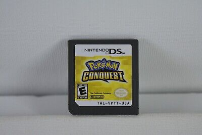 Pokemon Conquest (Nintendo DS) Game Only