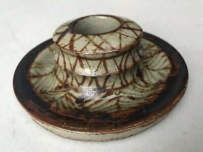 Aboriginal Tiwi Australian Indigenous Pottery Candle Holder 1979