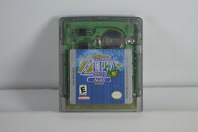 Legend of Zelda: Oracle of Ages (Gameboy Color) Game Boy Color - AUTHENTIC