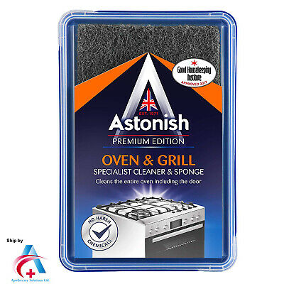ASTONISH PREMIUM OVEN & GRILL SPECIAL CLEANER WITH SPONGE 250g