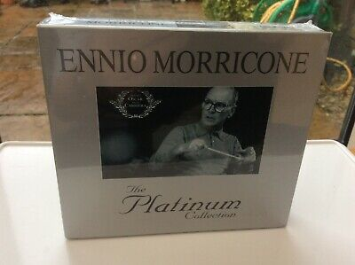 Ennio Morricone: The Platinum Collection, 3 CDs, Brand New