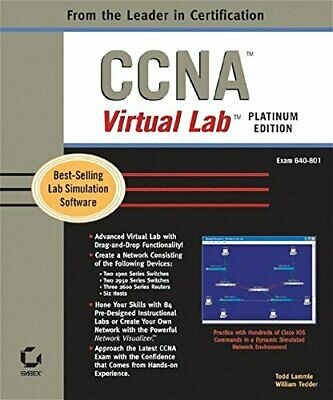CCNA VIRTUAL LAB, PLATINUM EDITION (640-801) By William Tedder