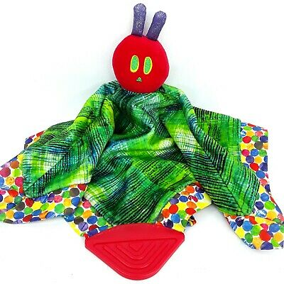 The Very Hungry Caterpillar plush soft toy Baby lovey comfort blanket rattle