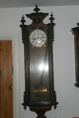Double weight Vienna wall clock