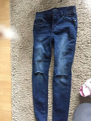 Boys Next Jeans Age 11 Worn Once Rip Style