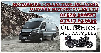 MOTORBIKE COLLECTION /DELIVERY / RECOVERY SERVICE (Based in Lincolnshire)