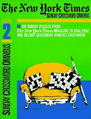 NEW YORK TIMES SUNDAY CROSSWORD OMNIBUS, VOLUME 2 (NY By Will Weng **Mint**