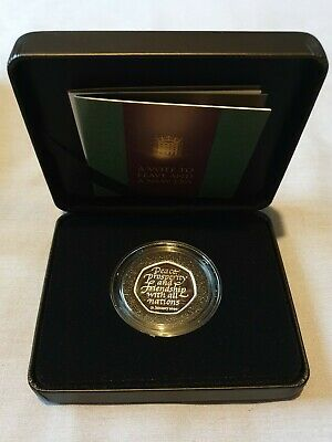 2020 UK Brexit Silver Proof 50p