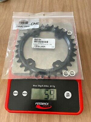 black OneUp Components XT M8000 round chainring 96BCD 32T