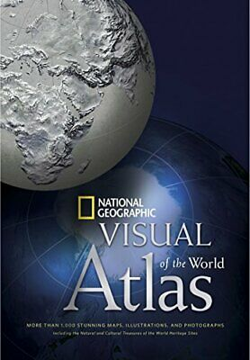 NATIONAL GEOGRAPHIC VISUAL ATLAS OF WORLD: MORE THAN 1,000 - Hardcover