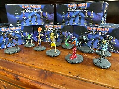IRON MAIDEN LEGACY OF THE BEAST Wave 1 Figures 10 different Eddie