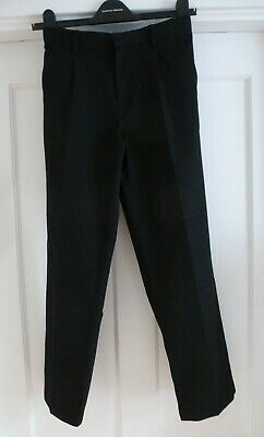 Boys Age 11-12yrs Black M&S School Trousers from Marks & Spencer