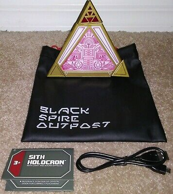 2020 Disney Parks Star Wars Galaxy's Edge Sith Holocron Lights & Sound Effects
