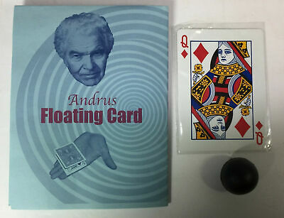 Magic Tricks : Andrus Floating Card, Jerry Andrus