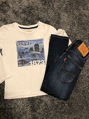 Boys Levi's Top & Levi's Jeans - Age 5 - Great Condition