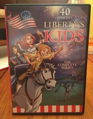 Liberty's Kids: The Complete Series (DVD, 2013, 4-Disc Set)