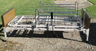 Hospital bed Graham Field Patriot semi electric with side rails