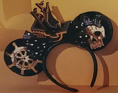 Disney Pirates Of The Caribbean Minnie Mouse The Main Attraction Ear Headband