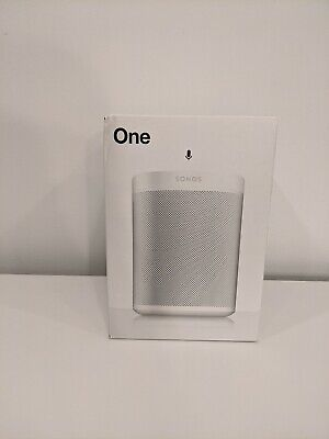 New Sonos One Gen 2 White Smart Speaker with Voice Control - ONEG2US1 Sealed