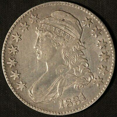 1831 United States Capped Bust 50c Half Dollar - Free Shipping USA