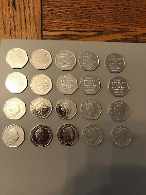 50p coin collections BREXIT piece of history