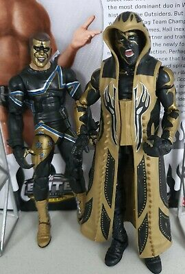 Wwe Mattel Basic Series Elite 36 Stardust And Goldust Set Of Two Figures