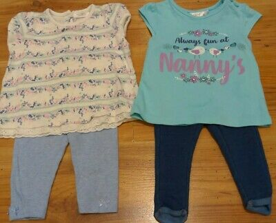 Baby Girl Summer Outfit Bundle Next,M&Co,Primark Nanny Age 3-6months