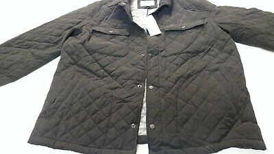 Goodfellow Co Mens Big /& Tall Snap Front Lined Coach Jacket NWT BLACK MT OR 2XT