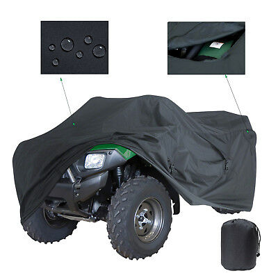 XXXL ATV Quad Cover For Can-Am Bombardier Outlander Renegade Traxter Quest DS