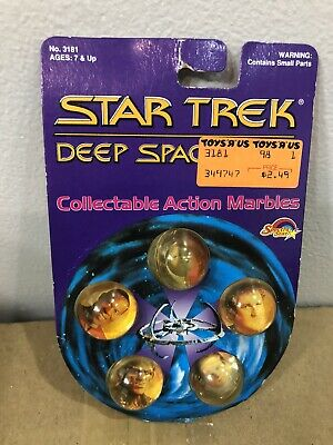 Star Trek Deep Space Nine 1993 Collectible Action Marbles Display
