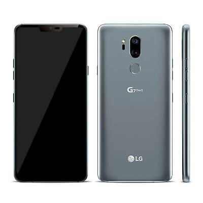 LG G7 ThinQ 64GB Smartphone (Factory Unlocked) - Platinum Grey Very Good