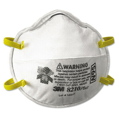 Niosh Approved N95 8210 Plus Particulate Surgical Respirator Masks Mult-Pk